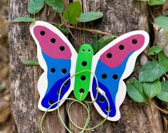 Educational Toys for Toddlers, Learning Toys for Toddlers, Montessori Toddler Toys, Wooden Toys Personalized, Gift for 2 Year Old, BUTTERFLY
