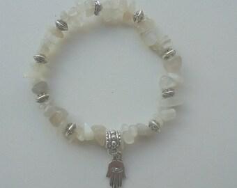 Moonstone bracelet special menopause - Crystal healing
