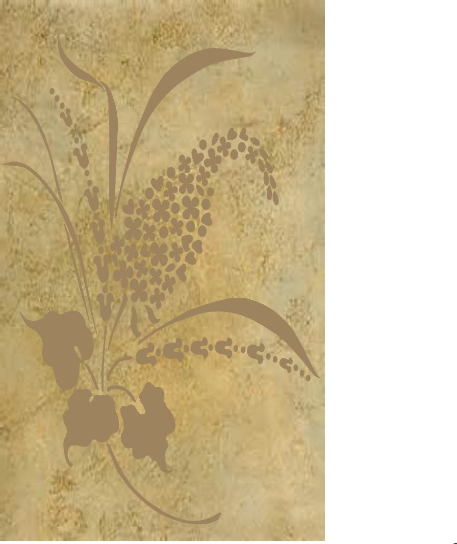 Enchanting Decorative Wall Stencils Collection - All About Wallart ...