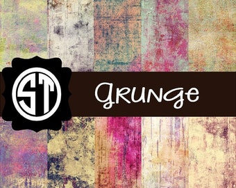 Grunge Pattern distressed printed indoor, outdoor, glitter, & metallic decal VINYL or heat transfer vinyl HTV or applique FABRIC