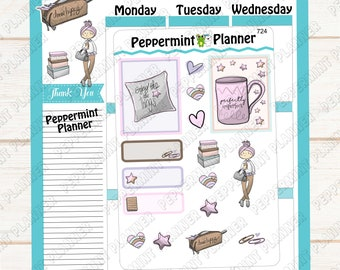 Love the Little Things --- Planner Stickers --- 724