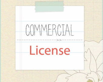 SVG Cut File Commercial License