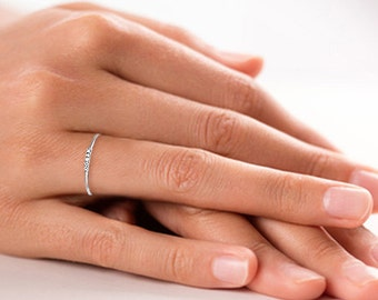 enggement rings diamond dimond bands ring thin band wedding krt bnd