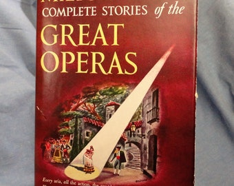 Complete Stories of the Great Operas Hollow Book Safe, Booze Hiding Place, Secret Compartment (alcohol not included)