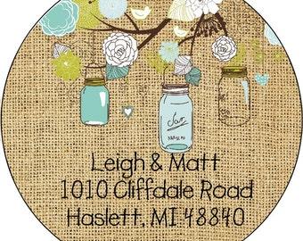 Return Address Labels Stickers, Return Address Labels, Return Address Sticker, Family Return Address Sticker, Custom Return Address
