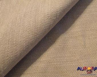 "Hemp Denim Fabric | Unbleached, Undyed Hemp | Organic Hemp by the Yard | 100% Hemp Fabric | Extra Wide Fabric | Hemp Twill Fabric | 64"" Wide"