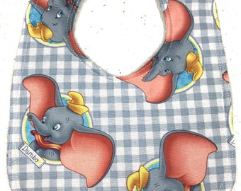 Disney Dumbo Baby Bib - infant bib - dribble bib - disney baby - elephant bib - baby boy bib - baby shower gift