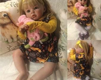 Arianna Kit by Reva Schick,reborn Toddler,Lifelike doll