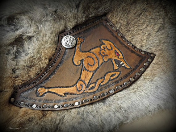 Custom Axe Sheath for Large Axes - Viking Norse Bushcraft