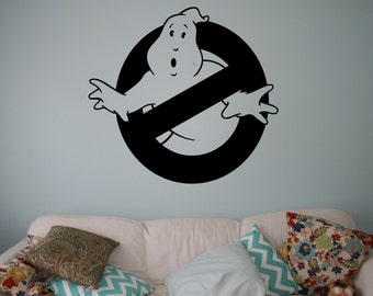Ghostbusters Vinyl Decal Supernatural Wall Sticker Nursery Interior Wall  Graphics Bedroom Childrenu0027s Kids Room Wall Art