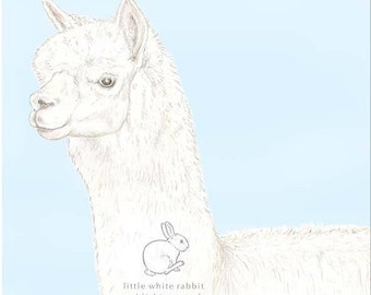 Patrick the Alpaca - Birthday Card