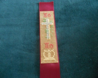 Reproduction Victorian Civil War Bookmark, New