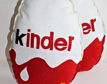 Pillows in felt ' Ovetto Kinder '