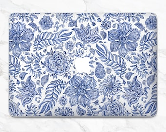 Flowers Laptop Floral Decal Laptop Skin Ethnic Style MacBook Pro Case MacBook Air Skin MacBook Pro Skin MacBook Air Laptop Decal MacBook