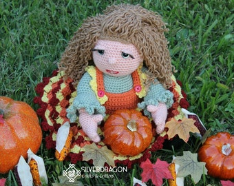 Autumn Woods Doll Pattern with Permission to sell the finished item