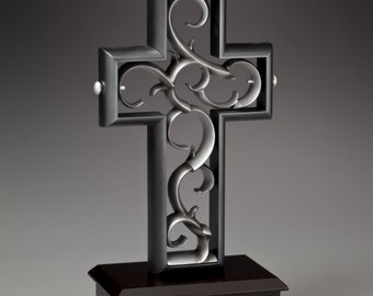 Unity Cross ® Black and Pewter color