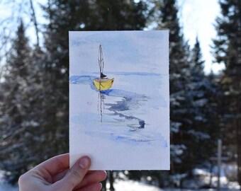 Watercolor NoteCard