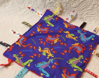 Dragon Blanket with Ribbons