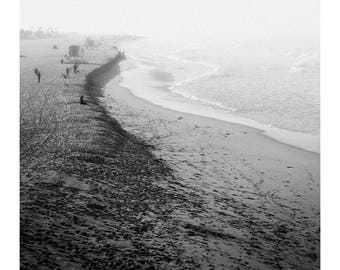 Huntington Beach Mist, Wall Art, Photo Print