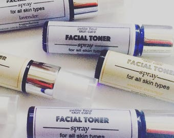 Facial Toner Spray, Natural, Facial Products, Gifts For Her, Stocking Stuffer,