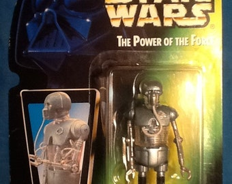 Star Wars Power of the Force 2-1B Medic Droid Action Figure Kenner