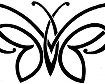 Tribal Butterfly Advanced Cross Stitch Pattern PDF