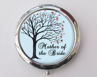 Compact Mirror, Mother Of The Bride Gift, Purse Mirror