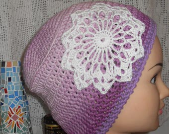 crochet cotton Hat