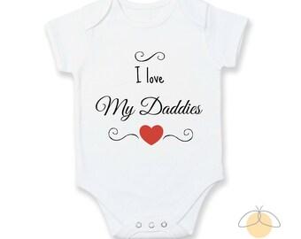 I love my Daddies Baby Vest