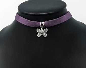 Choker, Butterfly Necklace, The Chelsea