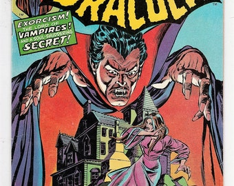 Tomb of Dracula 23 VF- Vampires Marv Wolfman Gene Colan August 1974 Horror Marvel Comics Book Bronze Age Christmas Gifts for Him Her