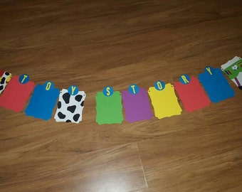 Toy Story inspired Photo Banner