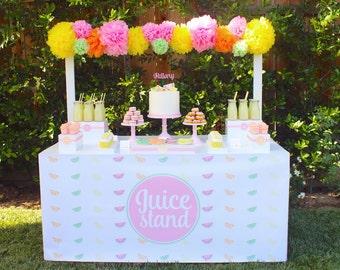 Feeling Fruity Juice Stand Wrap by Bloom