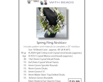 Spring Fling Necklace Kit