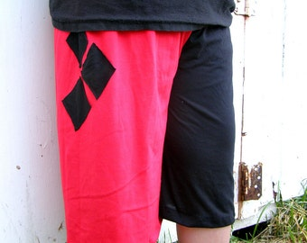 Harley Quinn S-XL costume Cosplay Arkham mens shorts
