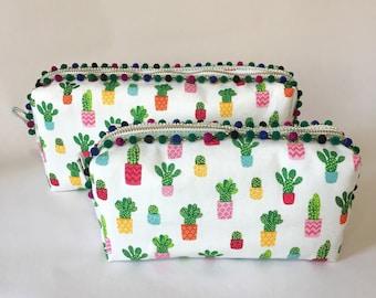 Cactus Zip Bag