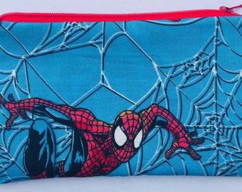 Spider-Man Zipper Pouch - Superheroes, Comic Books, Geekery.