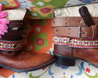 Girl's Boho Boots, size Youth 1.5