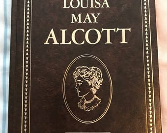 Works Of Louise May Alcott Illustrated Hardcover 1982 vintage book