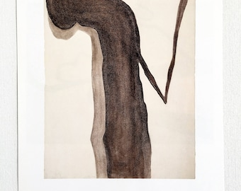 Georgia O'Keeffe / Drawing  / 1959 / Art / Book Page Print / Published 1990's