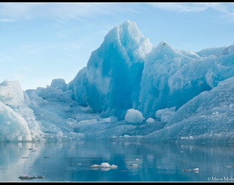 Iceland Blue Iceberg Photographic Fine Art Print