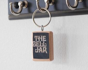 Literary Keychain: The Bell Jar (Sylvia Plath)
