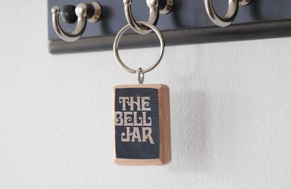 Porte cl litt raire la cloche de verre sylvia plath - Acheter une cloche de porte ...