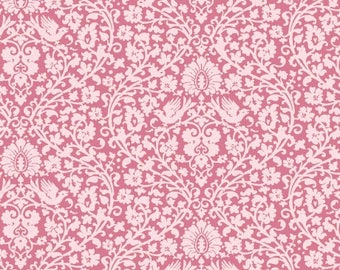 Tilda addie pink fabric