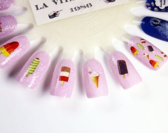 Nail Decals: Popsicle Water Nail Decals Summer Sale!!!!