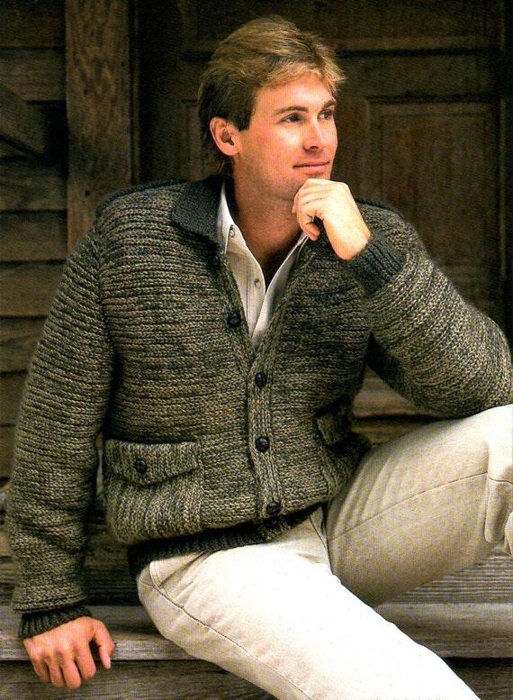 Mens Bomber Jacket Sweater Crochet Pattern Man Bomber Coat Jacket