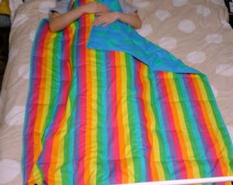 Fabric choice weighted blanket, teen size, 160 x 110cm, 4.5kg to 6.5kg, custom made