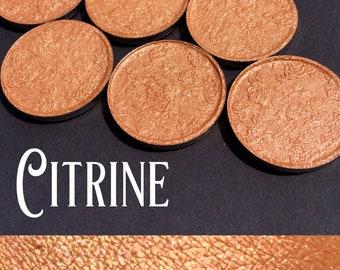 Citrine Pressed Eyeshadow - 26mm pan