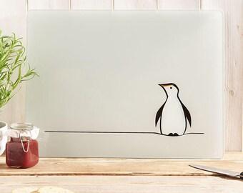 Penguin Glass Chopping Board, Kitchen Worktop Saver, Gift for Penguin Lovers, Penguin Gift,