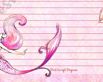 Siren Song - A5 Stationery - Writing Paper